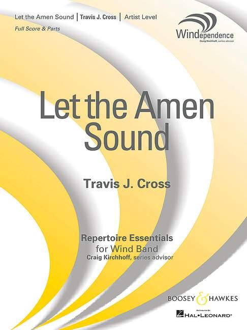 Deje que el sonido J. Amen Cruz, Travis J. sonido puntuación y banda de viento de piezas 9790051662890 c23fa5